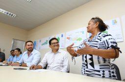 Reunião com comunitários no PROSAIMAUÉS