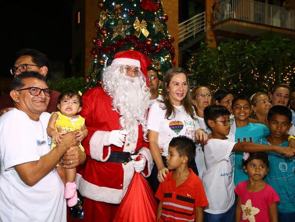 Natal nos Parques do Prosamim começa nesta quarta-feira e vai até sábado