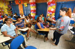 Mulheres do Prosamim participam de oficina de capacitação