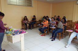 Governo do Amazonas inicia oficina de geração de renda para beneficiários do ProsaiMaués