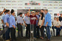 Governador Amazonino Mendes retoma obras do ProsaiMaués e anuncia investimentos para o setor viário da cidade