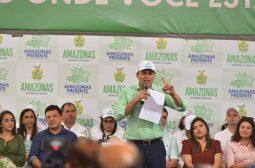 Wilson Lima lança 'Amazonas Presente'