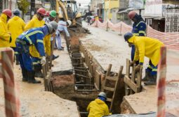Bairro do São Raimundo recebe nova etapa das obras de rede de esgoto